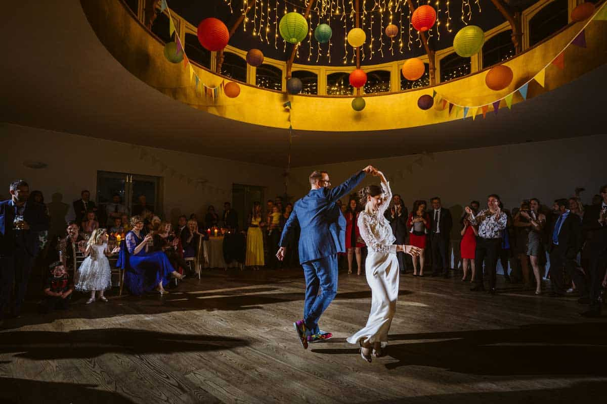 First Dance Photograph
