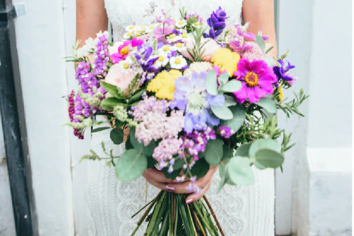 Organic Blooms Bouquet